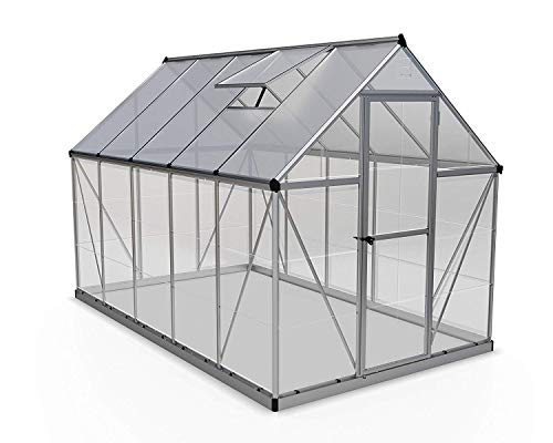 Palram Hybrid Greenhouse 6x10 Silver