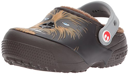 Crocs Fun Lab Lined Chewbacca, Jungen Clogs, Braun (Espresso), 29/30 EU