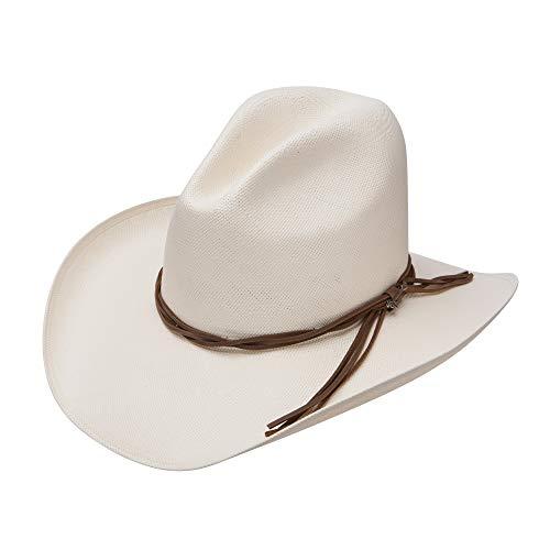 Stetson Gus Straw Cowboy hat (6 3/4)