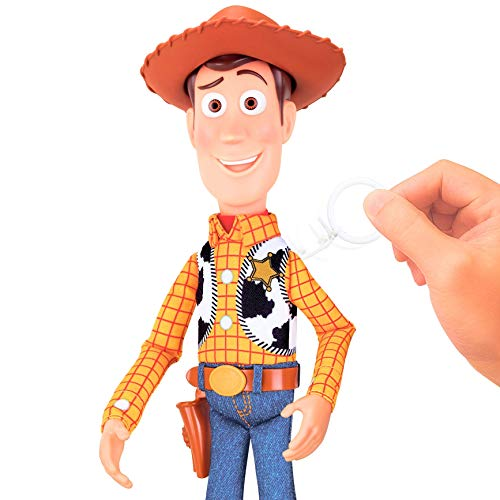 Sheriff Woody Deluxe Pull String Action Figure