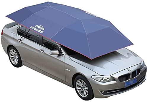 Guarda-chuva para carro 400x210cm Protetor de proteção ao ar livre Guarda-chuva para carro Guarda-chuva de proteção à prova d'água anti UV