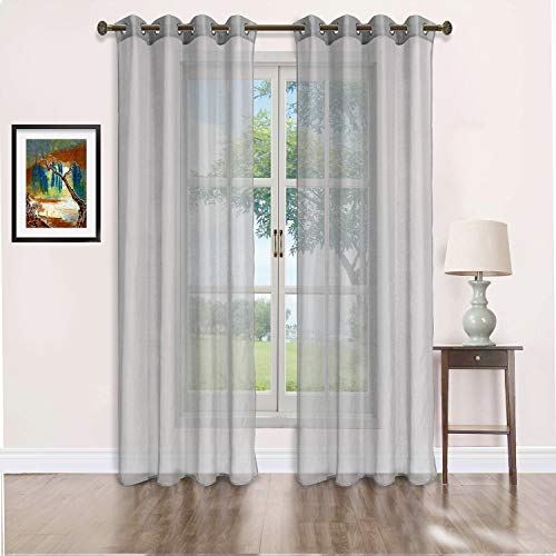 As Low As $3.66  Sheer Curtains Use promo code: DMNCFP5N Works on all options with no quantity limit