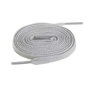 BIRCH s Shoelaces in 27 Colors Flat 5/16  Shoe Laces in 4 Different Lengths  56   142cm  Gray