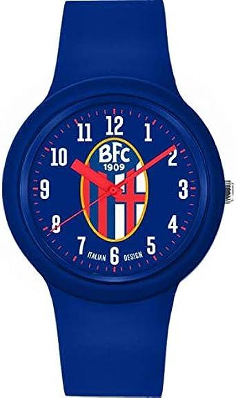 Bologna Fc 1909 - Reloj New One Azul Bologna FC Unisex - Adulto, No Size