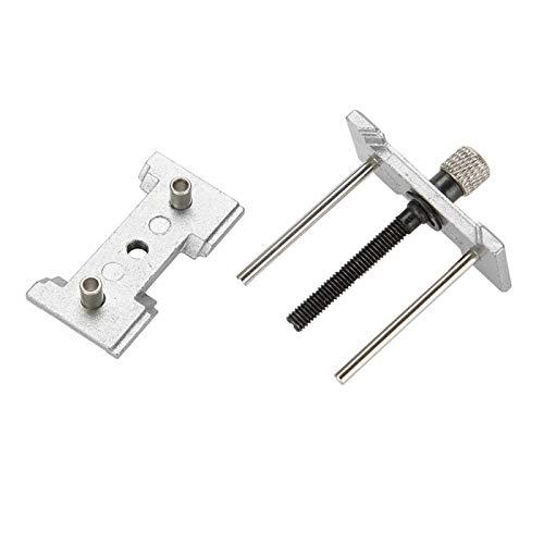 Herramienta de reparación de base de soporte de clip de reparación de movimiento, soporte de caja de reloj, herramienta de mantenimiento de reparación de reloj de metal, relojero para