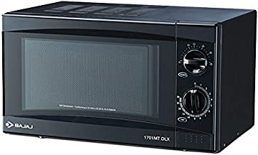 Bajaj 17 L Solo Microwave Oven (1701 MT DLX, Black)
