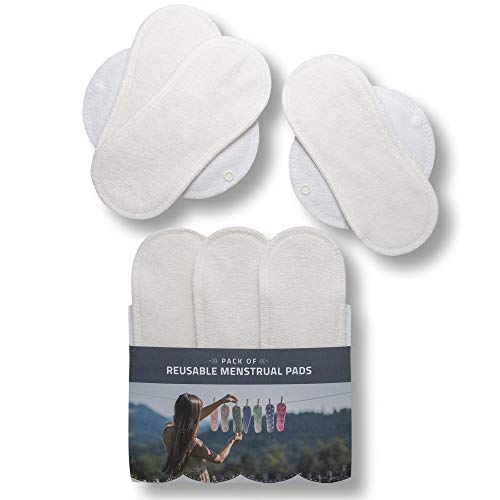 10PCS lavabile organico allattamento pads-10pcs white-reusable Assorbilatte Baby Breastfeeding Pads ultra morbido a tenuta assorbente Feeding Pads
