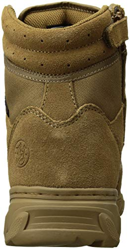 Smith & Wesson Men's Breach 2.0 Side Zip Tactical Boots, Coyote, 8.5