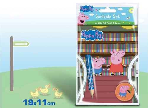 Copywrite Designs Kit crayons Motif Peppa Pig