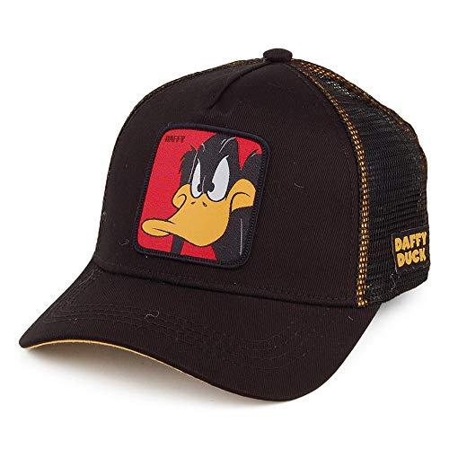 Capslab Gorra Trucker Looney Tunes Pato Lucas Gris-Negro