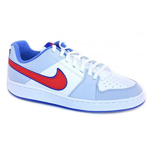 Nike - Nike Backboard 2 (GS) Schuhe Weiss und Grau Leder 488300 - Weiss, 40