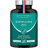 Espirulina Ecológica Suministro para 6 Meses | 540 Comprimidos de 500mg | 100% BIO Vegano | Ideal Deporte Musculación Detox Antioxidante Subir Defensas | Rico en Vitaminas Proteínas y Oligoelementos