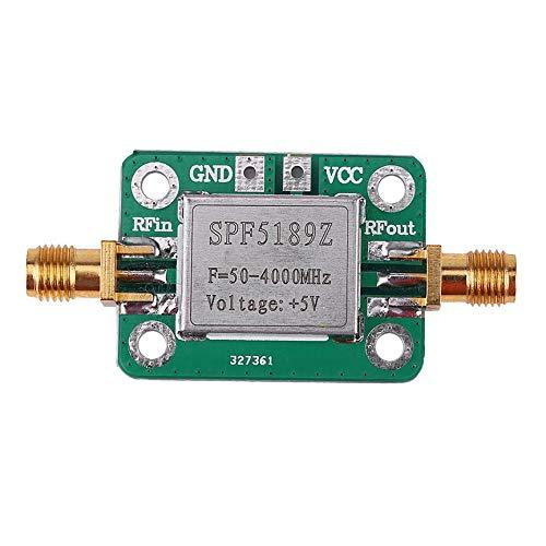 Peanutaod Hochwertiger rauscharmer LNA 50-4000 MHz HF-Verstärker-Signalempfänger SPF5189 NF = 0,6 dB INM