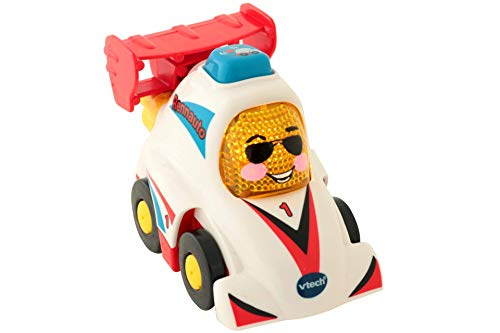 Vtech 80-514204 Tut Tut Baby Flitzer Rennauto Babyspielzeug, Mehrfarbig