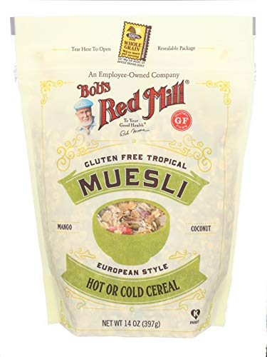 Bob's Red Mill Gluten Free Tropical Muesli, 14-ounce