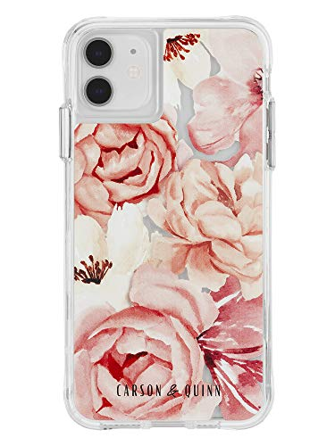 Carson & Quinn Watercolor Flowers Case - iPhone 11 / XR