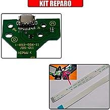 Kit Placa Usb Controle Ps4 Jds-011 + Cabo Flat 12 Vias