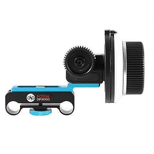 Fotga DP3000 DSLR Follow Focus FF für 15 mm Rod Rig Nikon D5600 D3400 D7500 Canon EOS 1300D 750D 200D Sony A9 A7 ii A6000 A6300 DSLR Kameras
