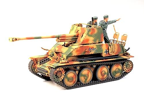 タミヤ 1/35 ミリタリーミニチュアシリーズ No.248 ドイツ陸軍 対戦車自走砲 マーダーIII 7.62cm Pak36搭載...