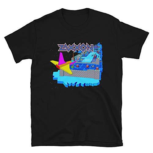 Unisex Zaxxon Arcade Game T-shirt, Black