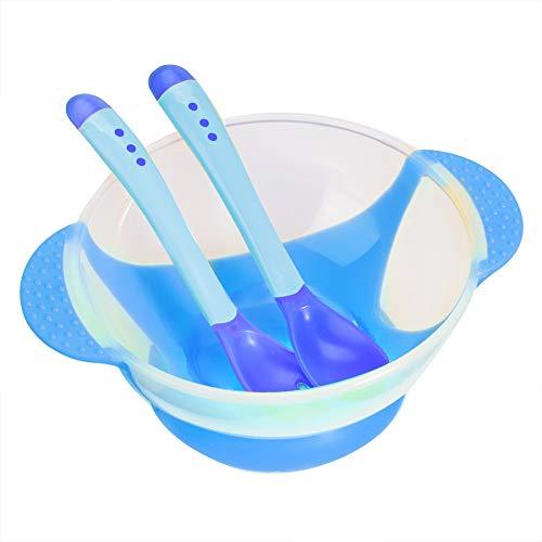 Set de 3 Vajilla para bebés, binaural para niños vajilla de alimentación...