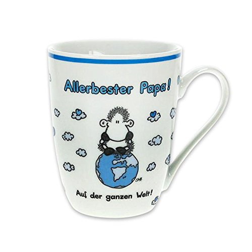 "Sheepworld 59214 Lieblingstasse ""Allerbester Papa"", Porzellan"