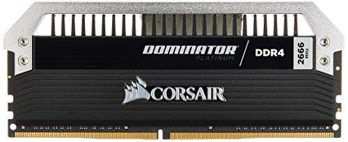 Corsair Dominator Platinum DDR4 32GB (2 x 16GB) C15 Arbeitsspeicher Kit 2666 MHz XMP 2.0