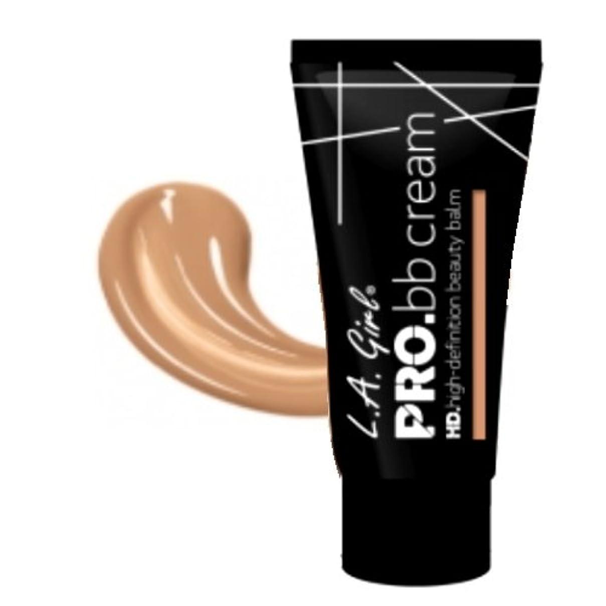 フェード回転長方形(3 Pack) LA GIRL HD Pro BB Cream - Light Medium (並行輸入品)