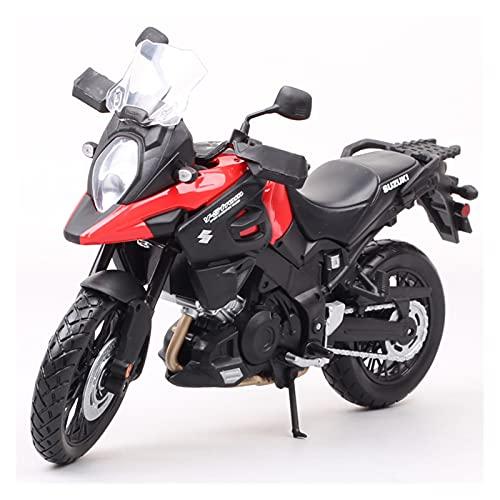 El Maquetas Coche Motocross Fantastico 1:12 para Suzuki V-Strom Touring Modelo DL1000 Bicicleta Diecast Vehículos Juguete Motocicleta Deportiva Colección Juguetes Hobby Regalos Juegos Mas Vendidos