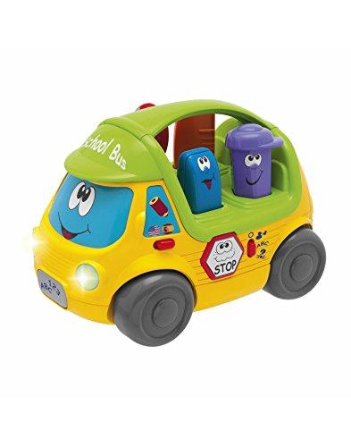 Chicco bus parler l'école jouet – Coloris Assortis