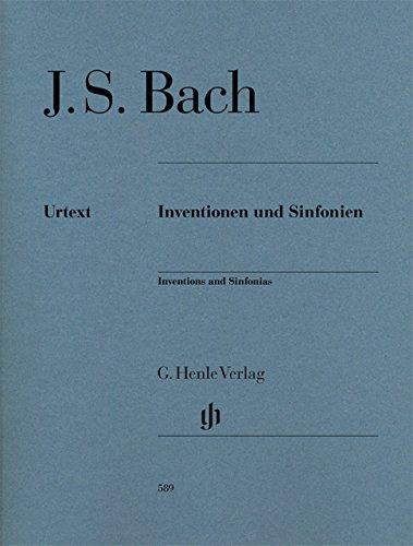 バッハ, J.S: インヴェンションとシンフォニア(二声と三声のインヴェンション) BWV 772-801/シェイデラー編/シュナイト 運指/原典版/ヘンレ社/ピアノ・ソロ