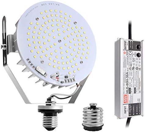 LED Shoebox Retrofit Kit 80W AC100 277V 350 400W MH HPS HID Equivalent LED Street Light Fixture product image