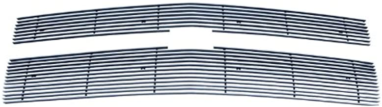 MaxMate Fits 2014-2015 Chevy Silverado 1500 2PC Bolton Upper 7/12 Bars (for Fit Z71 Models) Billet Polished Aluminum Grille Grill Insert