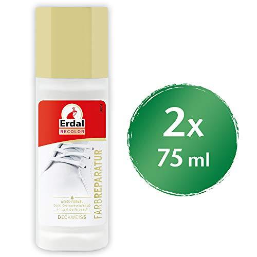 Erdal Farb Reparatur deckweiß, 2er Pack (2 x 75 ml)