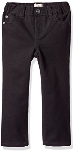The Children's Place Baby Boys' Skinny Jeans, Black DNM 4126, 12-18 Months