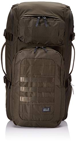 Jack Wolfskin TRT 65 Pack Jerk Sack de Voyage, Hiking Backpacks (sur 45 L) Adulte Unisexe, Pinewood, One Size