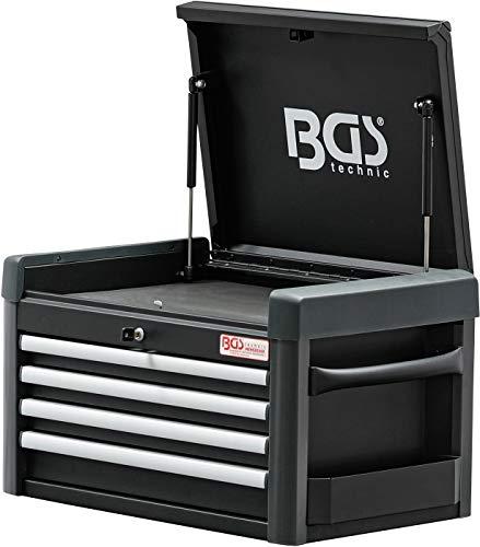 BGS 4112 | Werkstattwagen-Aufsatz für Werkstattwagen PROFI | 4 Schubladen | leer - 3