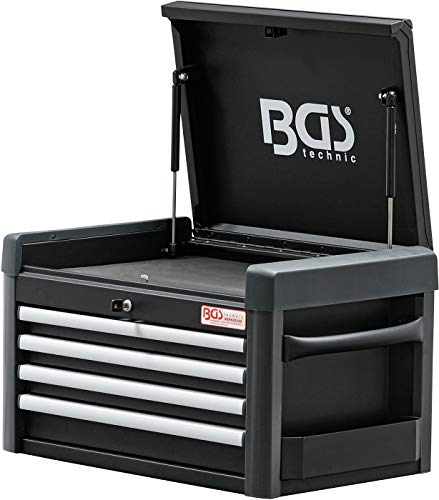 BGS 4112 | Werkstattwagen-Aufsatz für Werkstattwagen PROFI | 4 Schubladen | leer - 5