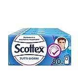 Scottex Fazzoletti Tutti i Giorni, 10 Confezioni da 8 Pacchetti
