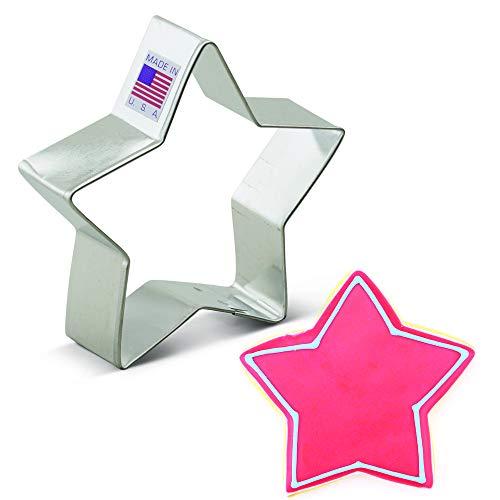 Ann Clark Cookie Cutters Emporte-pièces étoile - 9 cm - Acier de fabrication américaine
