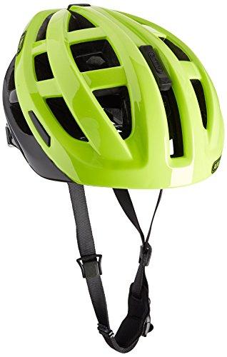 Abus Erwachsene Fahrradhelm In-Vizz Ascent, green comb, 13384-8,57-63cm