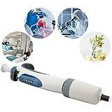 Micropipetta, pipetta manuale per pipette monocanale, micro pipetta regolabile da 500-5000...