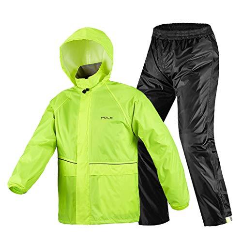 Z-leah waterdichte jas, regenjas, geschikt voor reizen, festivals, themaparken en buitenactiviteiten (verschillende maten)
