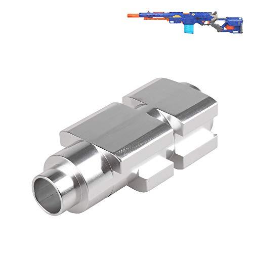 WORKER Aluminiumrohr für Nerf N-Strike Longstrike CS-6 Dart Blaster Modul