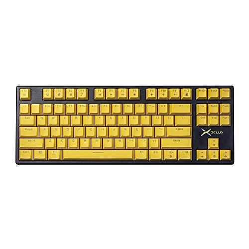 teclado 87 teclas de la marca DeLUX
