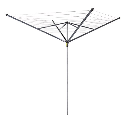 Minky Extra Breeze 4 Arm Outdoor Rotary Airer Washing Line, 50 m