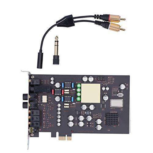 Scheda audio PCI-E 7.1-Surround Channel per desktop Modulo indipendente Hi-Fi integrato Schede audio interne del computer