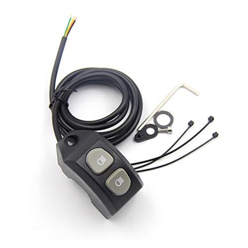 CAIFEIYU Ajuste para BMW R1200GS R 1200 GS R1250GS F850GS F750GS ADV ADV ADV ADVENTURA LC Mango MOTORIA Mango Mango Fog Light Control DE Interruptor DE Smart (Color : Switch B)