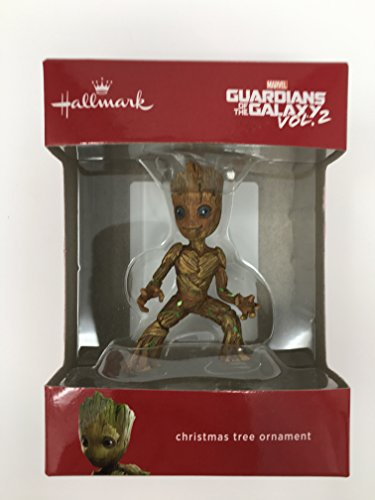 Hallmark Baby Groot from Guardians of the Galaxy Vol 2 - Christmas Tree Ornament 2017