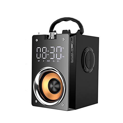BSTOPSEL T3 Bluetooth-luidspreker Krachtige 3 hoornluidsprekers Draadloze stereo Subwoofer Sterke basluidspreker Mobiele buitenaudio met groot volume